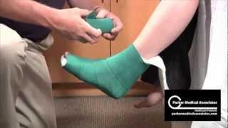Download Posterior Ankle Splint Technique Video