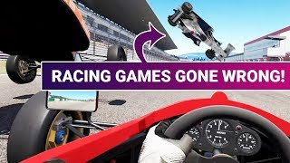 Download When Racing Games Go Wrong: Fail Compilation Video