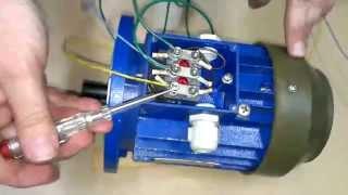 Download Как быстро и просто подключить трехфазный двигатель в однофазную сеть. DuMA8819. Video