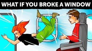 Download What If Someone Broke a Plane Window Video
