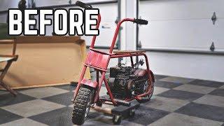 Download Vintage Mini Bike Restoration | Budget Build & Built Flathead! Video