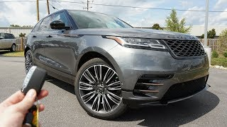 Download 2018 Range Rover Velar First Edition: Start Up, Exhaust, Test Drive and Review Video
