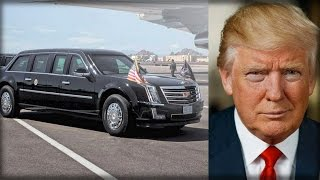 Download WARBEAST! TRUMP'S PRESIDENTIAL LIMO GETS HARDCORE MILITARY UPGRADES THAT PUTS OBAMA'S TO SHAME Video