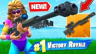Download *NEW* LEGENDARY HEAVY SNIPER In Fortnite Battle Royale! Video