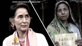 Download Reality Check: Aung San Suu Kyi's shameful silence on the Rohingya - UpFront Video