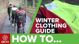 Download Winter Cycling Clothing Pro Tips - Cold Weather Clothing Guide Video