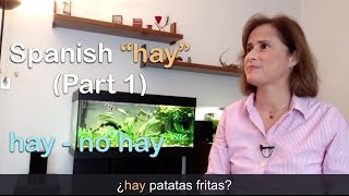 Download Spanish ″HABER″ ➤ hay, no hay - Parte 1 Video