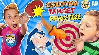 Download GOLDFISH CRACKERS CHALLENGE! Target Practice w/ FGTEEV Video
