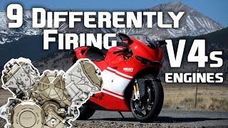 Download 9 Differently Firing V-4 Engines Video