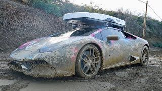 Download 800HP LAMBO GOES OFF-ROADING, car ruined... Video