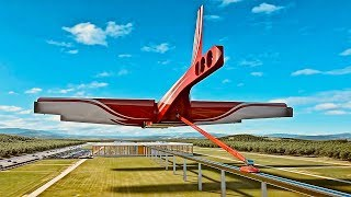 Download Flying Multi-Level Train - Great Animation Transport Concept Video