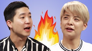 Download Amber Liu Answers Fan Questions While Eating Fire Noodles Video