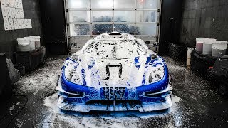 Download Paint Protecting The FASTEST Car In The World! Video