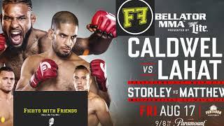 Download Bellator 204 Darrion Caldwell vs Noad Lahat, complete breakdown and predictions Video