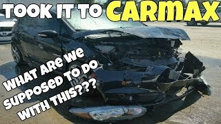 Download I Brought My REBUILT SALVAGE Car with FRAME DAMAGE to Carmax for Appraisal! Very Surprised! Video