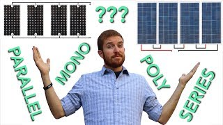 Download Mono vs Poly vs Flexible Solar Panel + Series vs Parallel Wiring Video