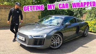 Download WRAPPING MY NEW AUDI R8! Video