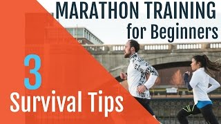 Download Marathon Training for Beginners | 3 Survival Tips! Video