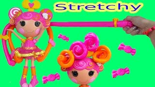 Download Lalaloopsy Stretch Candy Gummy Like Hair Doll Whirly Stretchy Locks Toy Review Unboxing Video