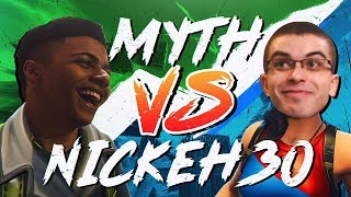 Download Myth vs Nick Eh 30, Liquid POACH - Pro Playgrounds (1v1 BUILD BATTLES!) Video