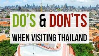 Download Do's and Don'ts When Visiting Thailand Video