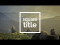 Download After Effects Tutorial | Square Title Video