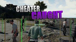 Download CHEATER CAUGHT 1 v 10 - PUBG - PLAYER UNKOWN BATTLEGROUND - WALLHACK - TRIGGERBOT Video
