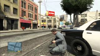 Download GTA 5 Five Star Police Station Massacre/Chase Video
