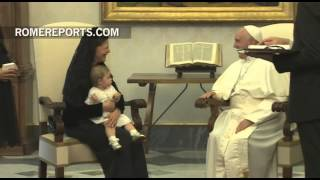 Download Pope meets with Queen Silvia of Sweden Video