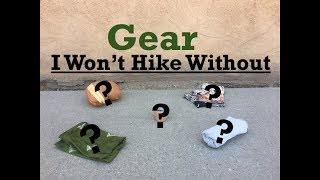 Download Gear I Won't Hike Without Video