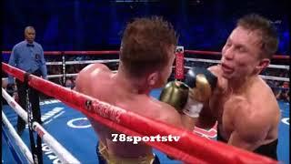 Download CANELO ALVAREZ VS GENNADY GOLOVKIN FIGHT SCORED A DRAW REACTION Video