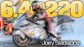 Download World's Fastest Hayabusa: 6.46@220mph Joey Gladstone Pro Open Bike Video