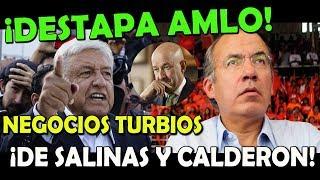 Download ¡Escandalo! Destapa López Obrador Negocios de Calderón y Salinas - Campechanando Video