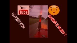 Download OGIEŃ Z RURY!!😮 Ursus 912 i dwie przyczepy drzewa Video