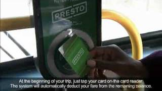 Download How to use PRESTO Video