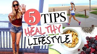 Download HOW TO LEAD A HEALTHY LIFESTYLE | 5 Must-Have Healthy Habits! Video