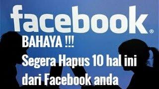 Download Buat yang Punya Akun Facebook, 10 Hal Ini Wajib Anda Tahu !! Video