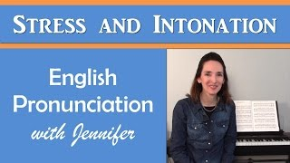 Download Introduction to Stress and Intonation - English with Jennifer Video