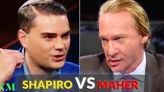 Download Ben Shapiro VS Bill Maher: ALPHA BATTLE Analysis Video