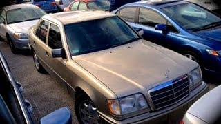 Download 1995 Mercedes-Benz E320 W124 Start Up, Quick Tour, & Rev With Exhaust View - 69K Video