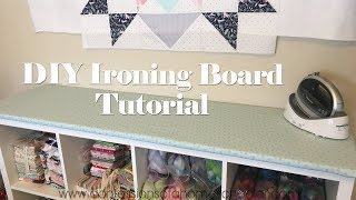 Download Easy DIY Ironing Board Tutorial Video