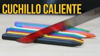 Download MIRA LO QUE SUCEDE CUANDO CORTAS CON UN CUCHILLO A 1000 GRADOS- Experimento Video