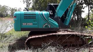 Download รีวิว kobelco sk200-10=JO5E-TG=153hp=21.000kgs=4.3m excavator EP.2108 Video