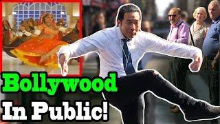 Download BOLLYWOOD SONGS IN PUBLIC!! (Prem Ratan Dhan Payo, Choli Ke Peeche, Dhoom, Chammak Challo, Badri Ki) Video