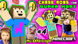 Download HELLO NEIGHBOR MINECRAFT ROBBERY GROCERY STORE! Kid Steals Money & Food (FGTEEV Vending Machines Mod Video