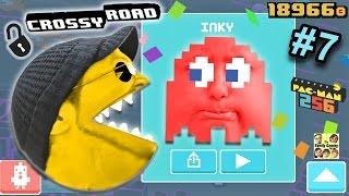 Download Let's Chomp on Crossy Road! PACMAN 256 Secret Characters Update (FGTEEV DUDDY & LEX Part 7 GAMEPLAY) Video