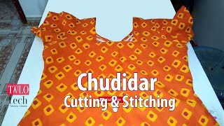 Download Chudidar cutting and stitching easy method | Churidar tailoring classes Video