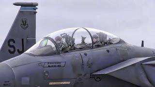 Download F-15E Strike Eagles Evacuate In Advance Of Hurricane Matthew Video