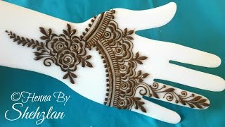 Download Henna By Shehzlan | How To Henna Tutorial #60 | Gulf Style Video