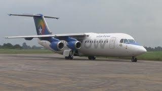 Download Starbow BAE146-300 Aircraft Turnaround at Kumasi Airport (KMS), Ghana Video